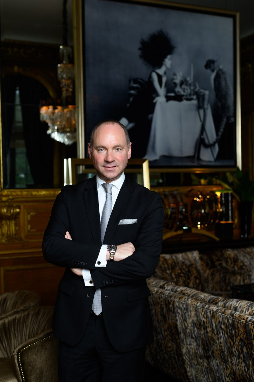 Stefan Athmann takes over the management of the Hotel Bristol Berlin, a landmark of luxury hotel industry in the German metropolis