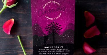 Whole Lotta Organic Love by Conscious Chocolate for Vegan Valentine's Day