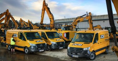 Mercedes-Benz Sprinter goes to ground for Holt JCB