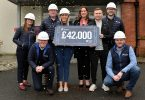 Portview handover £42k for hospice in fitting tribute to colleague